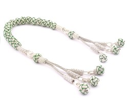 1000 Ayar Gümüş Kazaz Zaza Tesbih - Thumbnail