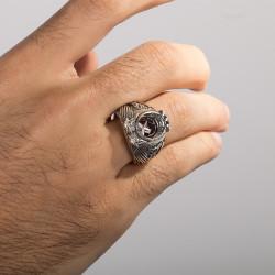 13.Dönem Kara Kuvvetleri Astsubay Yüzüğü - Thumbnail