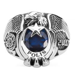 Anı Yüzük - 15. Dönem 2017 Kartal Başlı Polis Teşkilatı Yüzüğü