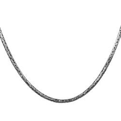 Anı Yüzük - 925 Ayar Gümüş Erkek Kral Zincir