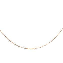 Anı Yüzük - 925 Ayar Gümüş Gold Renk Bayan Zinciri