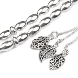 925 Ayar Gümüş Tesbih - Thumbnail