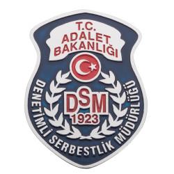 Anı Yüzük - Denetimli Serbestlik Müdürlüğü (DSM) Cüzdan Rozeti