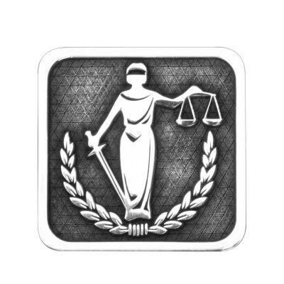 Adalet Heykeli Gümüş Kol Düğmesi