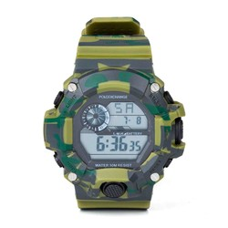 Anı Yüzük - Asker Yeşili Dijital Spor Saat