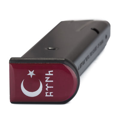 Ay yıldız Göktürkçe Türk Şarjör Stickerı