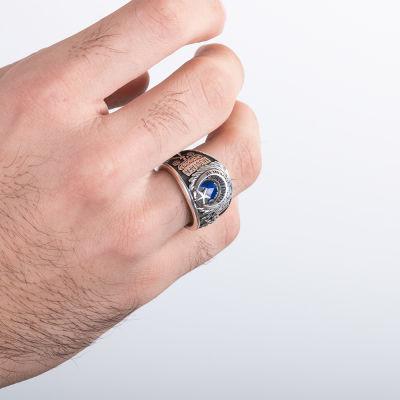Atatürk İmzalı Kişiye Özel Sahil Güvenlik Komutanlığı Yüzüğü