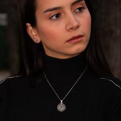 Bayan Mührü Süleyman Kolyesi - Thumbnail