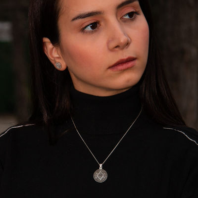 Bayan Mührü Süleyman Kolyesi