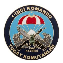Anı Yüzük - Birinci Komando Tugay Komutanlığı Cüzdan Rozeti