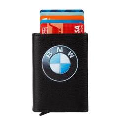 Anı Yüzük - BMW Logo Baskılı Otomatik Mekanizmalı Kartlık