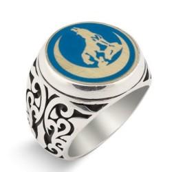 Anı Yüzük - Mineli Bozkurt Yüzüğü