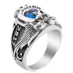 Çift Kartal Başlı 2017 Hava Kuvvetleri Yüzüğü (HVKK) - Thumbnail