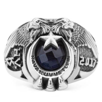 Çift Kartal Başlı 2017 Hava Kuvvetleri Yüzüğü (HVKK)