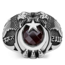 Anı Yüzük - Çift Kartal Başlı Kara Kuvvetleri 2016 Yüzüğü (KKK Yüzüğü)