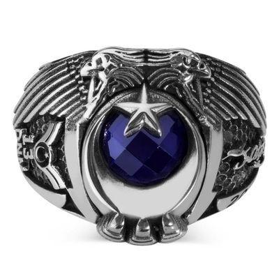 Çift Kartal Başlı Kara Kuvvetleri Astsubay Yüzüğü