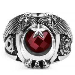 Anı Yüzük - Çift Kartal Başlı Polis Okulu Mezunları Yüzüğü