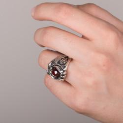 Cihan Hakimiyeti Yüzüğü (Ay Yıldız - Osmanlı Arması) - Thumbnail