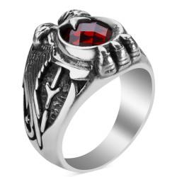 Cihan Hakimiyeti Yüzüğü (Kayı Boyu - Göktürkçe Türk) - Thumbnail