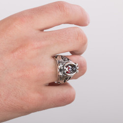 Cihan Hakimiyeti Yüzüğü (Kayı Boyu - Osmanlı Arması) - Thumbnail