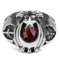Anı Yüzük - Cihan Hakimiyeti Yüzüğü (Kayı Boyu - Osmanlı Arması)