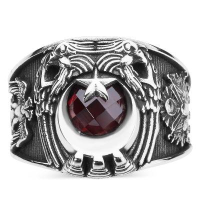 Cihan Hakimiyeti Yüzüğü (Osmanlı Arması- Selçuklu Kartalı)