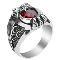 Cihan Hakimiyeti Yüzüğü ( Üç Hilal- Bozkurt) - Thumbnail