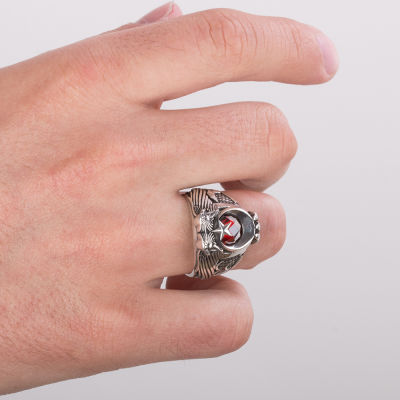 Cihan Hakimiyeti Yüzüğü ( Üç Hilal- Bozkurt)
