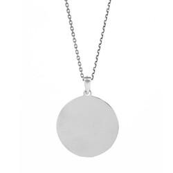 Cihan Kartalı Planet Gümüş Kolye - Thumbnail