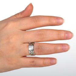 Çukur Dizisi Gümüş Alyans Çifti - Thumbnail