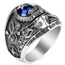 Deniz Kuvvetleri İkmal Birimi Subay Yüzüğü - Thumbnail