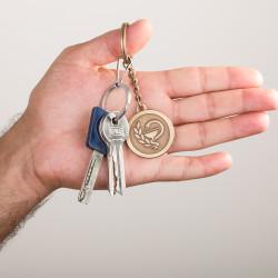Eczacılık Logolu Anahtarlık - Thumbnail