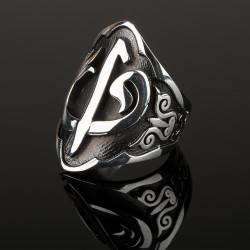 Anı Yüzük - Elif Vav Zihgir Gümüş Yüzük