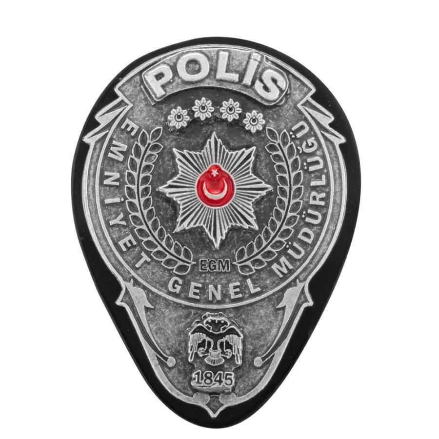 Emniyet Genel Müdürlüğü Polis Rozeti Kemer Rozeti
