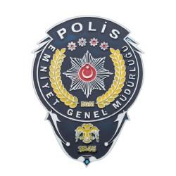 Anı Yüzük - Emniyet Genel Müdürlüğü Polis Cüzdan Rozeti