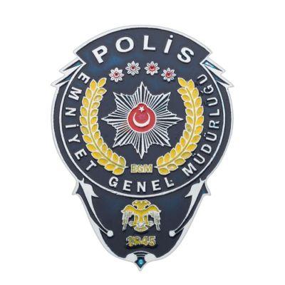 Emniyet Genel Müdürlüğü Polis Cüzdan Rozeti