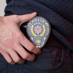 Emniyet Genel Müdürlüğü Polis Kemer Rozeti - Thumbnail