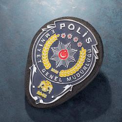 Anı Yüzük - Emniyet Genel Müdürlüğü Polis Kemer Rozeti