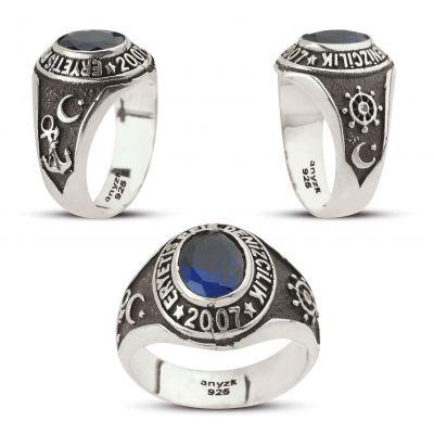 Eryetiş Reis Denizcilik Meslek Lisesi Gümüş Yüzüğü