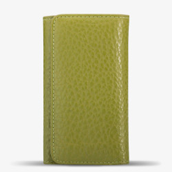 Fıstık Yeşili Renk Orta Boy Deri Anahtarlık