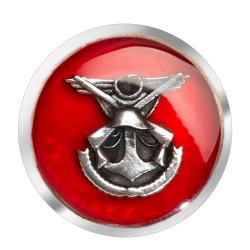 Anı Yüzük - Genelkurmay Amblemli Gümüş Kol Düğmesi