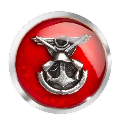 Genelkurmay Amblemli Gümüş Kol Düğmesi