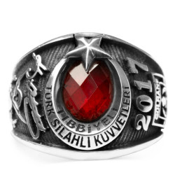 Anı Yüzük - Gülhane Askeri Tıp Akademisi (Tıbbiye) Yüzüğü