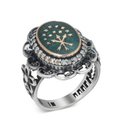 Gümüş Çerkes Güzeli Yüzüğü - Thumbnail