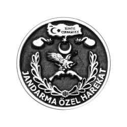 Anı Yüzük - Gümüş Jandarma Özel Harekat Yaka Rozeti