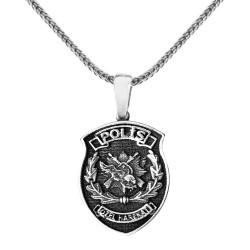 Gümüş Polis Özel Harekat Kolyesi - Thumbnail