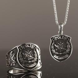 Anı Yüzük - Gümüş Polis Özel Harekat Kombini