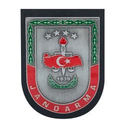 Anı Yüzük - Gri Renk Jandarma 1839 Kemer Rozeti