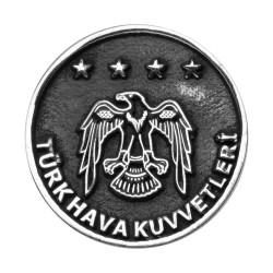 Anı Yüzük - Gümüş Türk Hava Kuvvetleri Yaka Rozeti