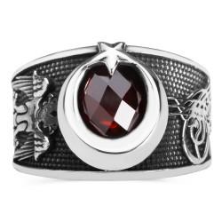 Anı Yüzük - Hakimiyetin Gücü Gümüş Türk Yüzüğü